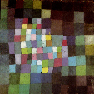 Abstraction with Reference to a Flowering Tree Paul Klee
