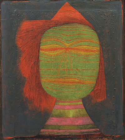 Actor's Mask Paul Klee