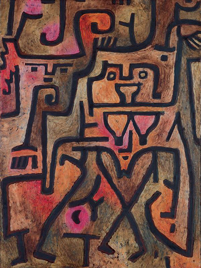 Forest Witch Paul Klee