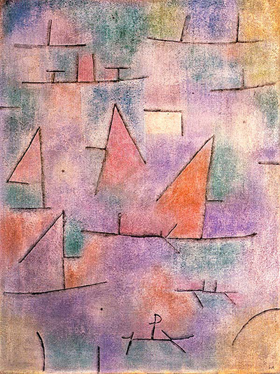 Harbour with Sailing Ships Paul Klee